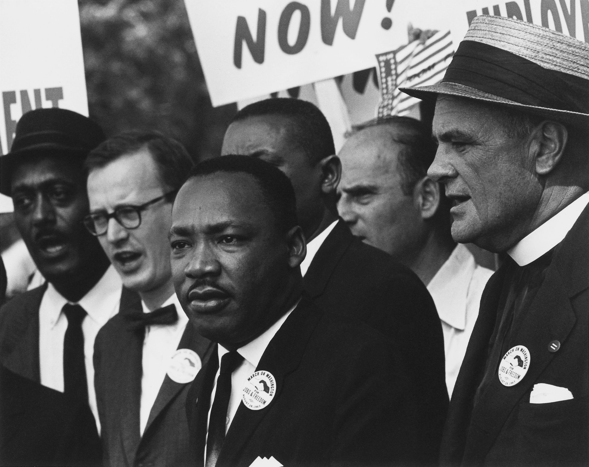 Photo of Martin Luther King Jr., the radical