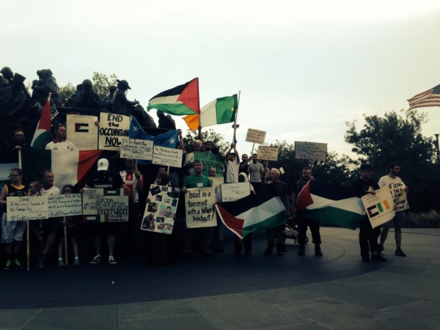 """Photo of From Gaza to North Ireland, Philly Says """"End the Occupation!"""""""