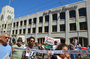 July 26 march for Palestine in San Francisco
