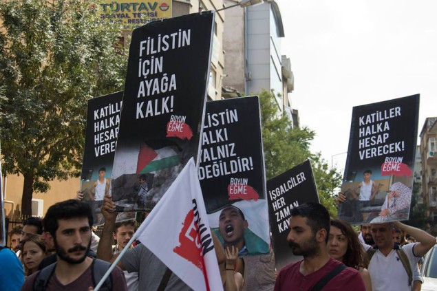 Photo of Protest in Ankara, Turkey denounces genocide in Gaza