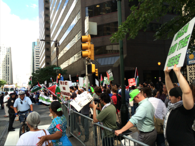 Photo of A month of solidarity for Gaza in Philadelphia