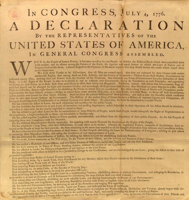 Photo of The Fourth of July and the right of revolution