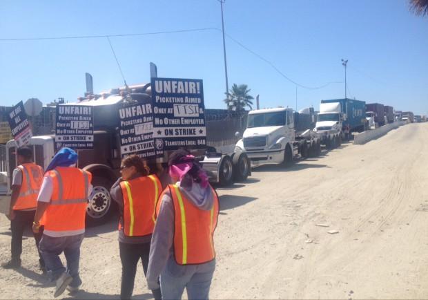 Photo of Breaking: Strike disrupts port trucking in LB, LA