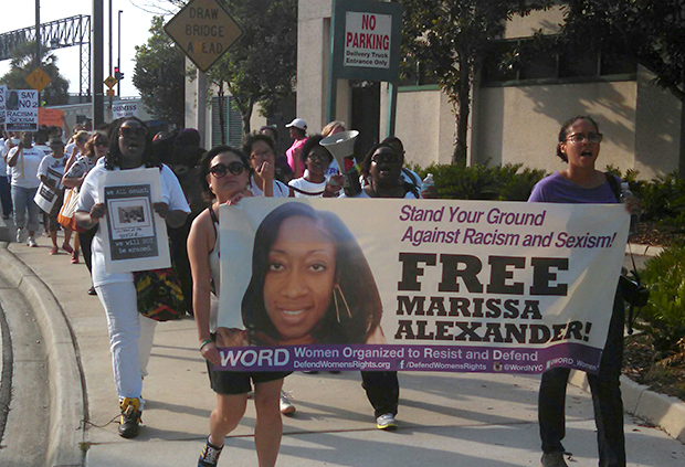 Free Marissa Alexander march in Jacksonville