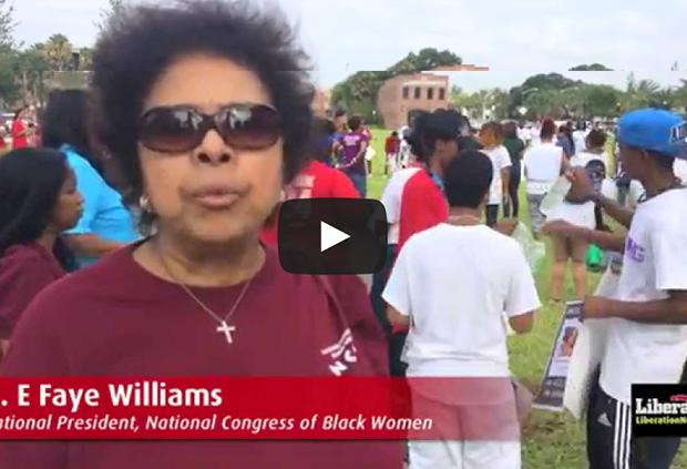 Photo of 'Free Marissa Alexander' march shakes Jacksonville