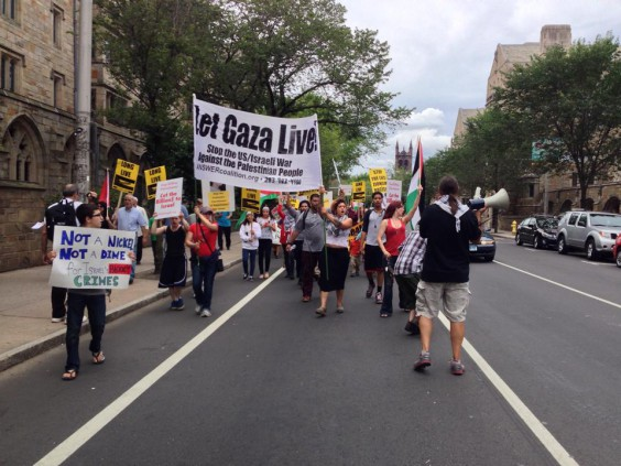 Photo of No More Genocide! New Haven marches for Palestine
