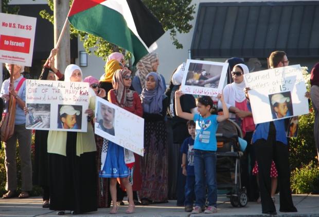 Photo of San José protests Palestinian teen murder