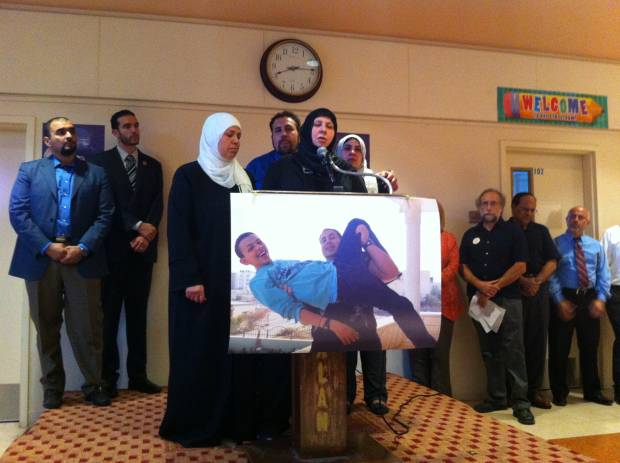 Photo of Murdered Palestinian boy's family speaks out