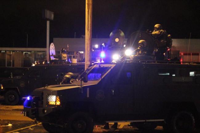Unprovoked armed assault on people in Ferguson