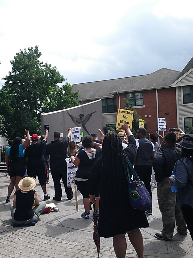 Photo of Pittsburgh to Ferguson: solidarity and linked struggles