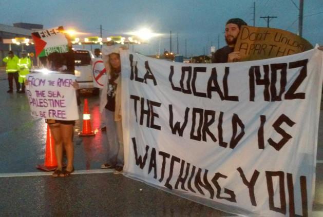 Photo of Tampa, Fl. blocks Israeli boat