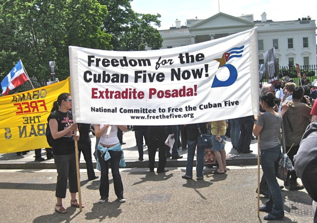 Photo of Cuban 5: imprisoned for fighting terrorism