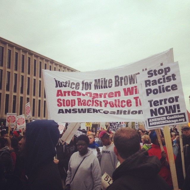 Photo of Weekend of resistance demands justice for Mike Brown