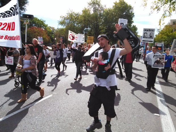 Photo of National day against police brutality in Sacramento