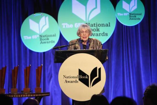 Ursula K. Le Guin at National Book Awards