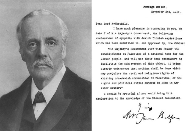 Photo of Anniversary of infamous Balfour Declaration