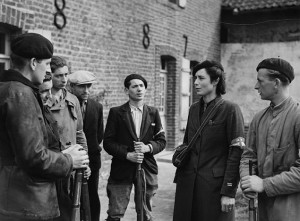 Members of the French anti-fascist resistance during World War Two