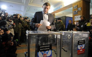 Voting in the Donetsk People's Republic