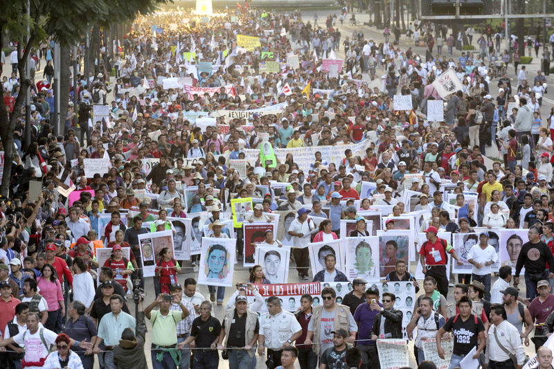 Photo of Movement sweeps Mexico demanding justice for 43 missing students