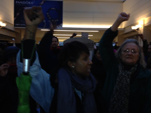 Photo of Seattle: Almost daily protests in solidarity with Ferguson