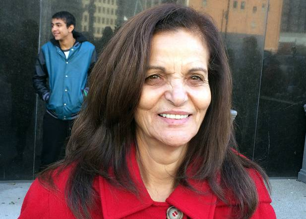 Photo of Rasmea responds to travesty of justice: 'I am strong!'