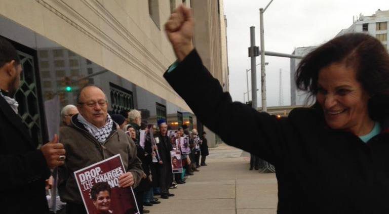'It's my life, I have a right to talk about the things that happened to me!'—Rasmea Odeh