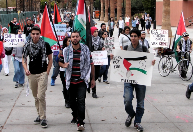 Students for Justice in Palestine at SJSU present demands