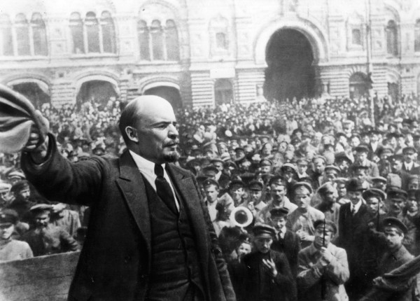 Photo of Lenin's contributions