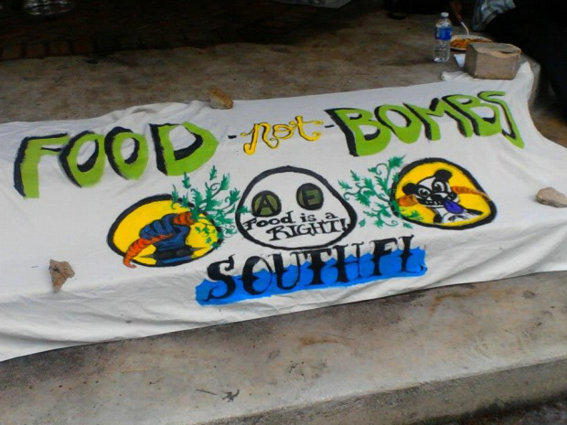 Photo of Statement by Food Not Bombs hunger striker in Florida