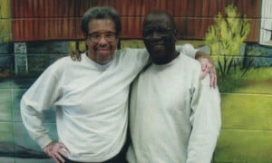 Albert Woodfox (left) wishes he could tell his longtime friend, comrade and fellow Angola 3 member, Herman Wallace (right), of the news of his long overdue impending release.