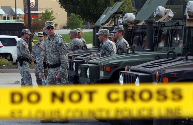 Photo of 700 vets, active troops tell Nat'l Guard to stand down in Ferguson