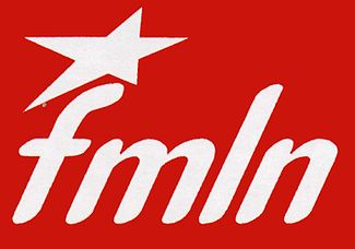 Photo of FMLN (Northern California) solidarity statement to the PSL