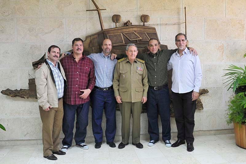 The release of the Cuban 5 and the shift in U.S.-Cuba relations