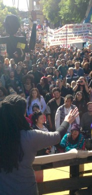 Photo: MLK day in Oakland. Credit: Forrest Schmidt