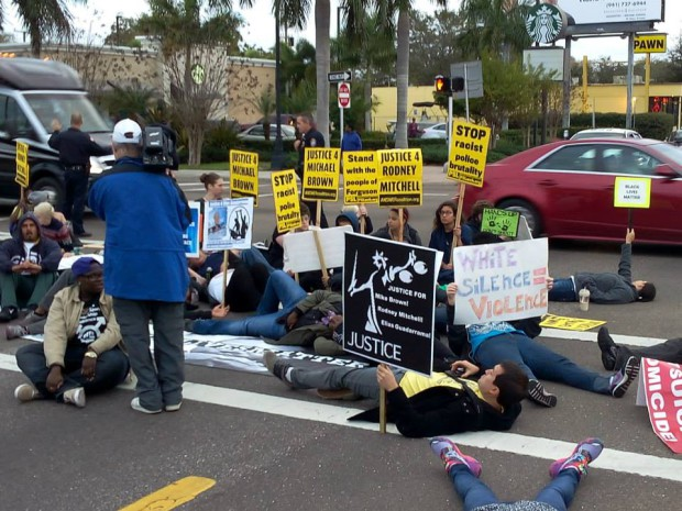 Photo of March for Justice shuts down Bradenton