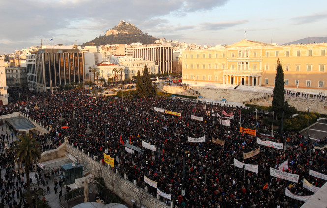 Photo of Turmoil in Greece as early elections called