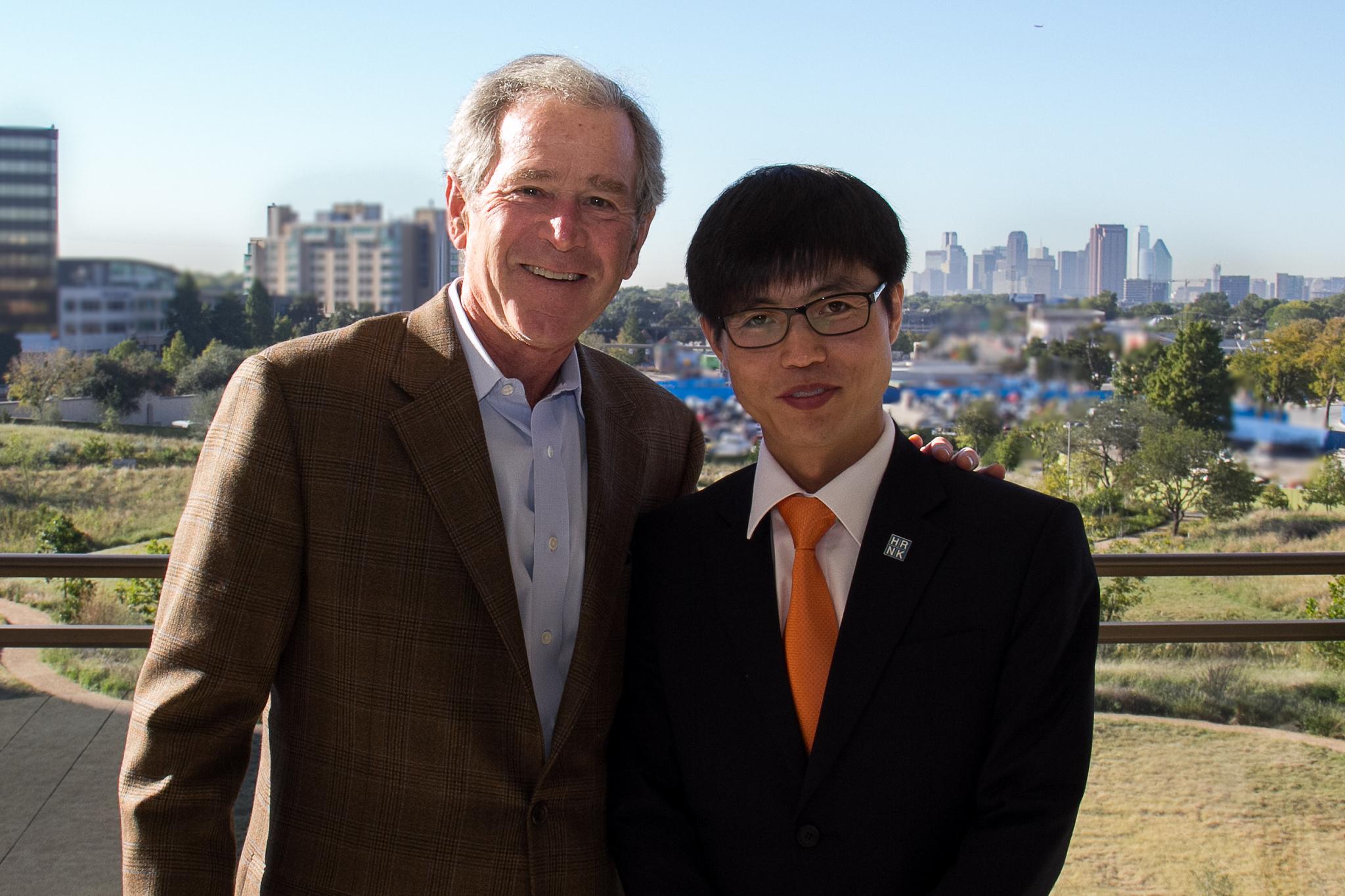 Photo of West's favorite North Korean defector lied to UN