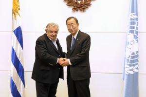 Meeting with H.E. Mr. José Mujica, President of the Republic, (President's Office – 11th floor Torre Ejecutiva)
