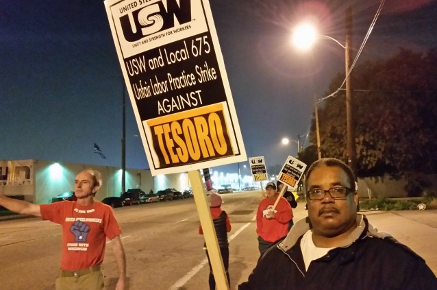 Photo of Refinery workers strike for safety against Big Oil