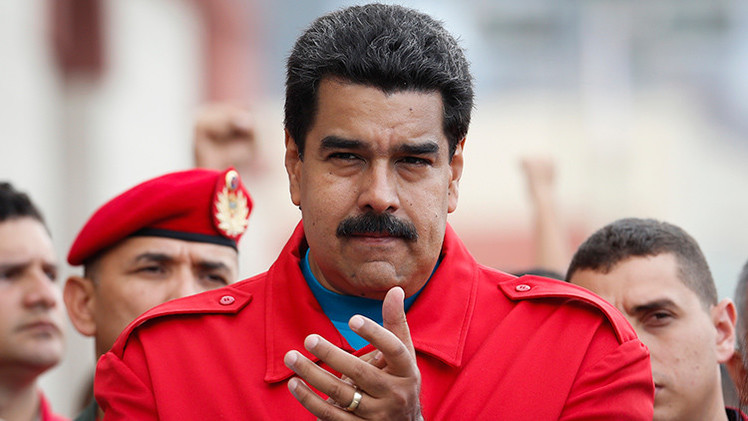 Photo of Pres. Maduro's letter to US people