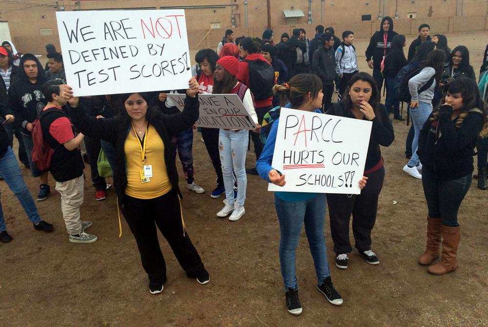 Photo of Protests hit Albuquerque schools