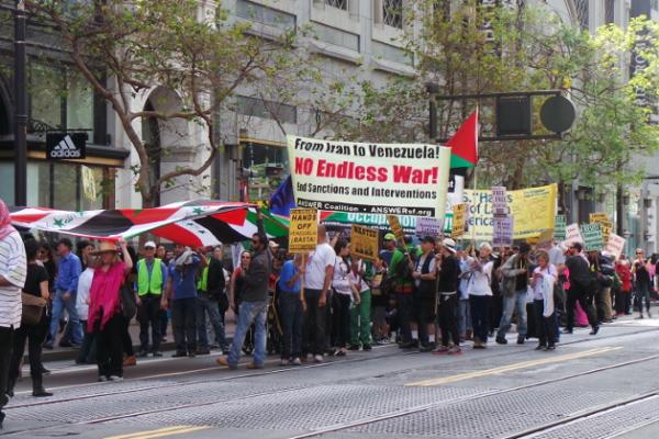 San Francisco, March 21. Liberation photos by Toya Mileno.