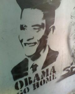 Stencil art in Venezuela