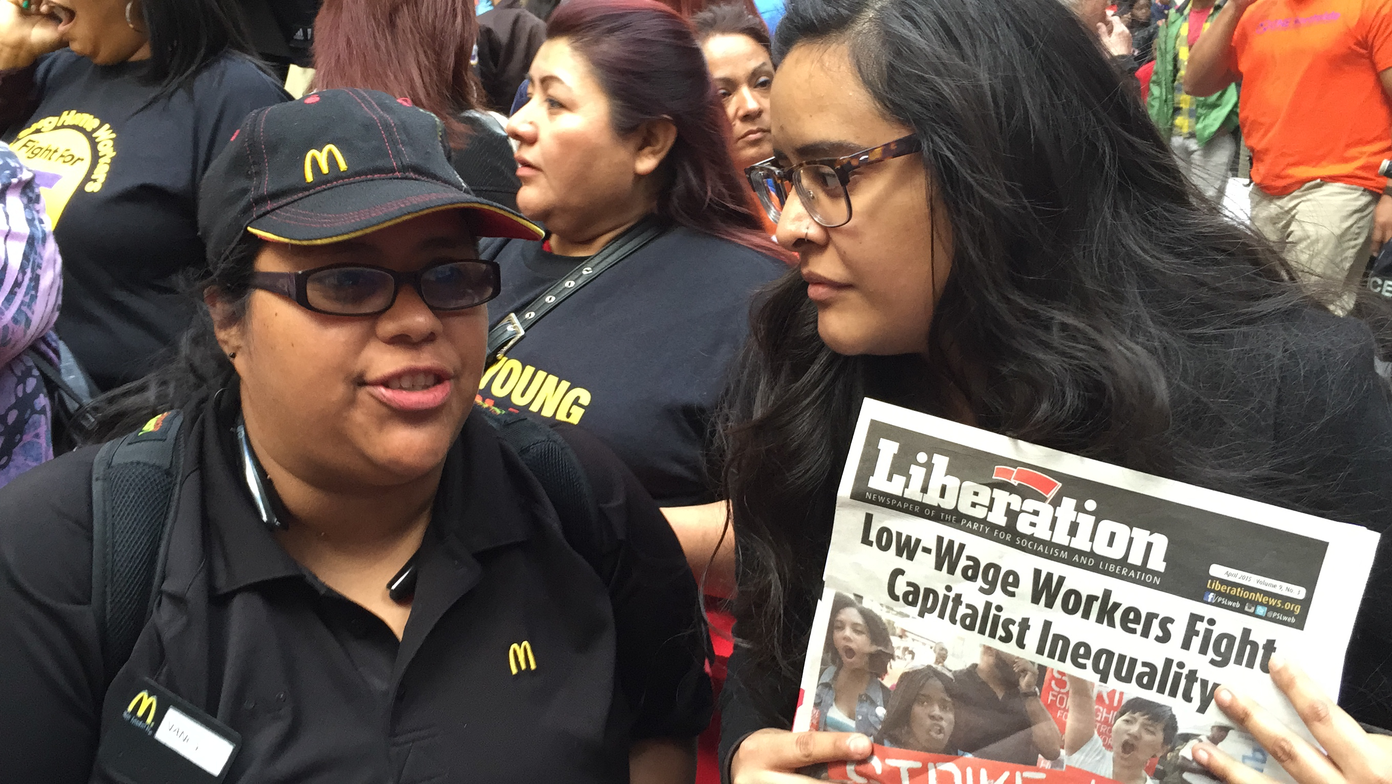Photo of Chicago Workers Fight for $15 and a Union