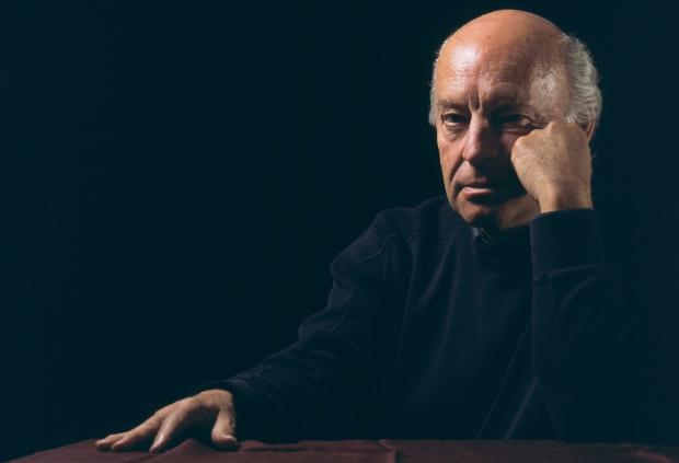 Photo of Eduardo Galeano on Haiti
