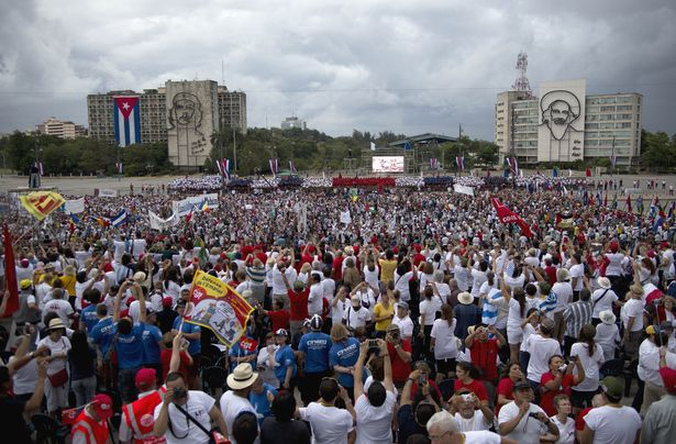 Photo of VIDEO: May Day 2015, Havana