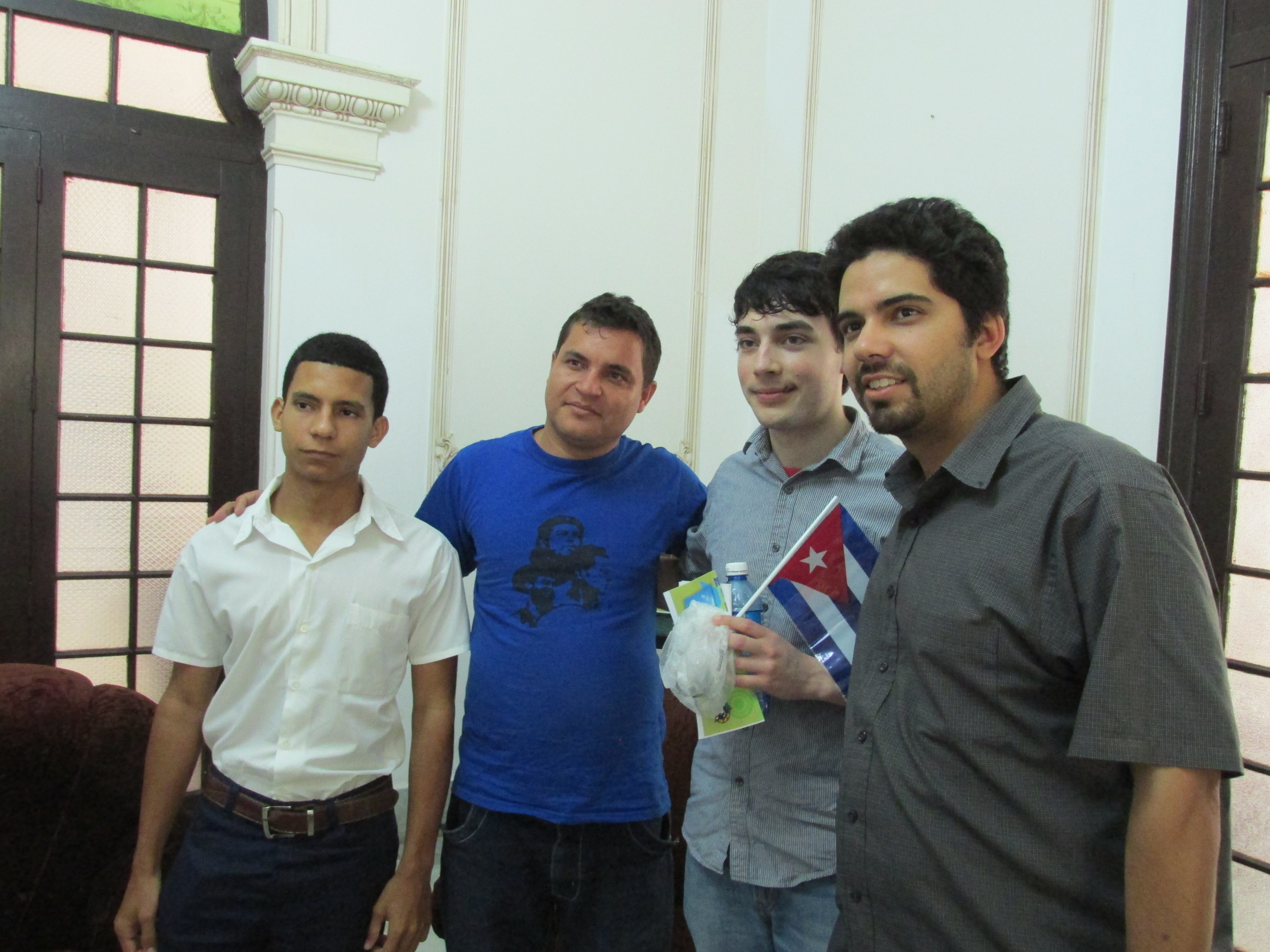 Photo of Cuban and U.S. youth activists discuss pressing issues
