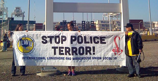 May Day labor shutdown of Oakland's Ports confronts police brutality