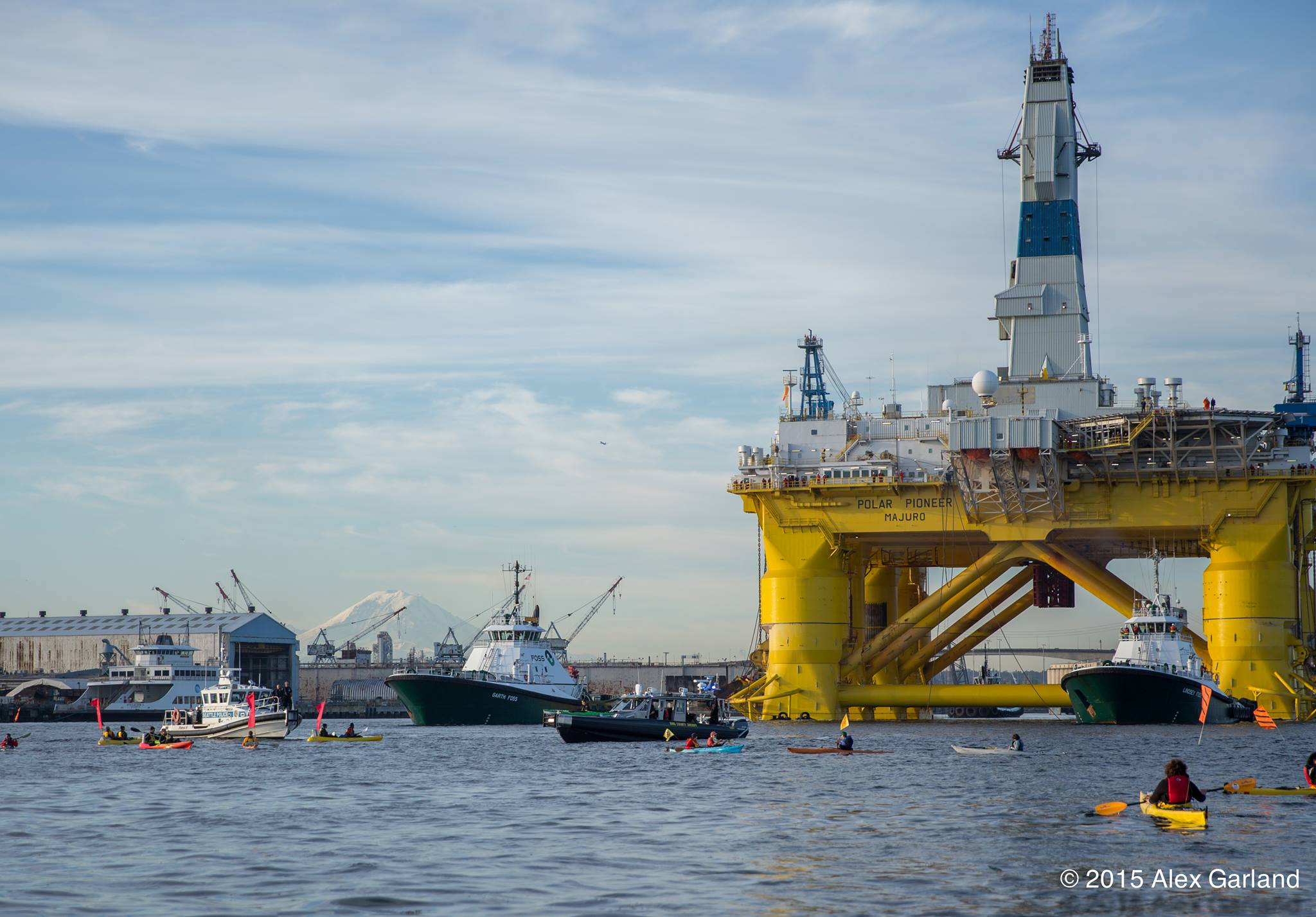 Photo of Protest works: Shell to leave Arctic