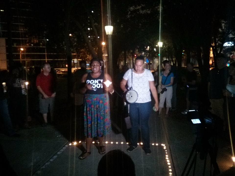 Photo of Tampa vigil for Charleston victims decries racist terrorism